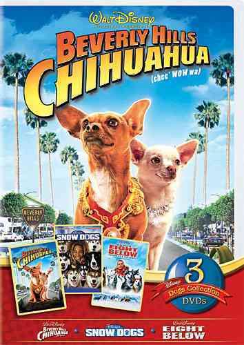 DISNEY DOGS 3 PACK (DVD)
